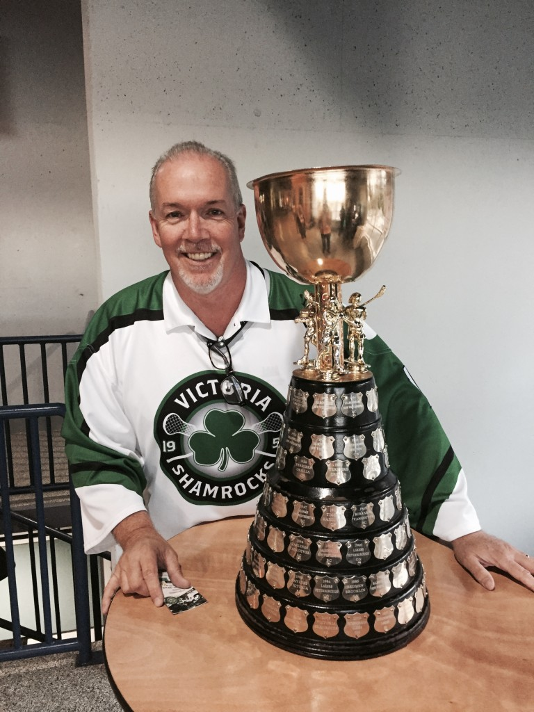 Our beloved Shamrock's Lacrosse Team, winners of the 2015 Mann Cup!! Congratulations!!