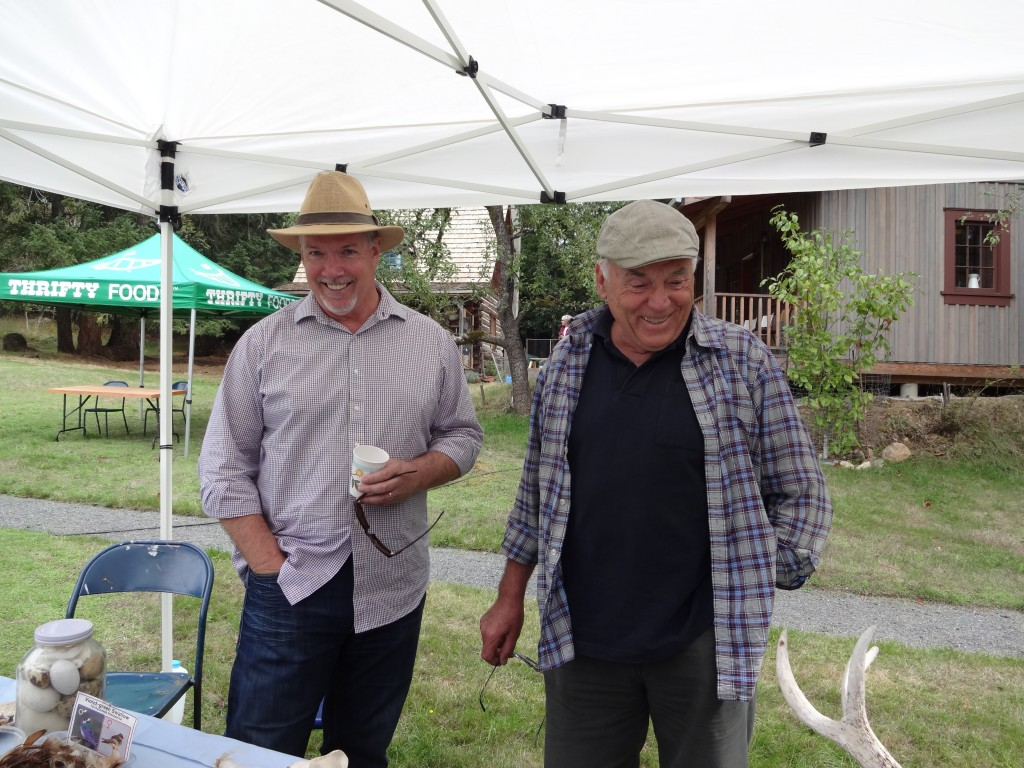 John Horgan with Ray Zimmerman-Highlands Fling Sept 2015
