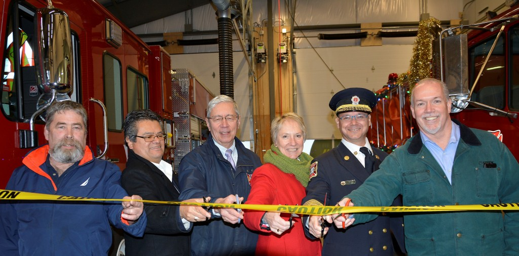 2015 JOHN HORGAN-EAST SOOKE FIRE HALL OPENING